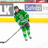 Pictured:  UND:  #27, Johnson, Luke, F, 6-0, 192, SO, Grand Forks, ND