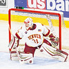 Pictured:  DU: #31, Evan Cowley, G, 6-4, 185, SO, Evergreen, CO