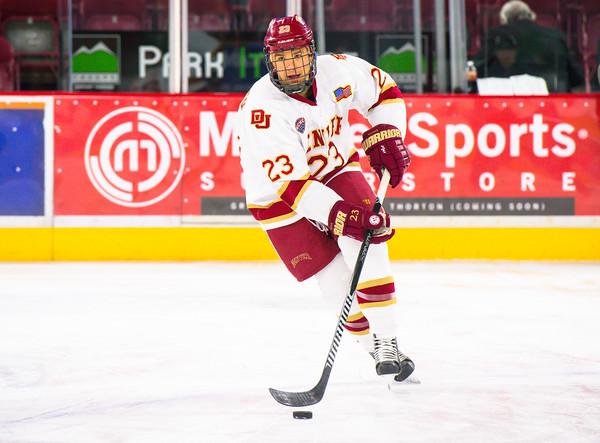 Pictured:  DU:  #23, Matt Marcinew, F, 5-9, 177, SO, Calgary, ALB