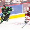 Pictured:  DU:  #39, Grant Arnold, F, 6-1, 215, JR, Centennial, CO;  UND:  #3, Poolman, Tucker, D, 6-3, 210, FR, East Grand Forks, MN