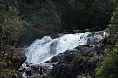 Los Cantaros waterfall, Argentina.