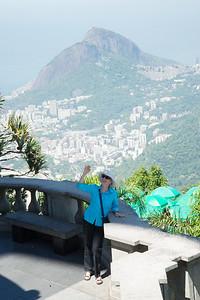View from Corcovado. Rio de Janeiro, Brazil.