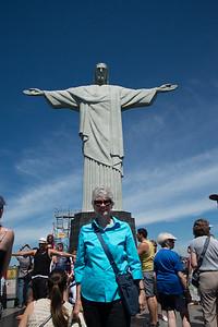 Christ the Redeemer. Rio de Janeiro, Brazil.