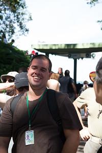 Tour guide Eduardo. Rio de Janeiro, Brazil.