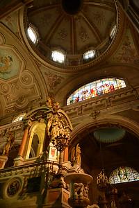 Metropolitan Cathedral. Santiago, Chile