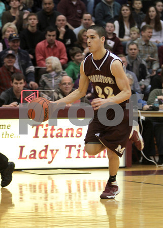 2014 MCT Tournament Morristown vs Jefferson Township Varsity Basketball