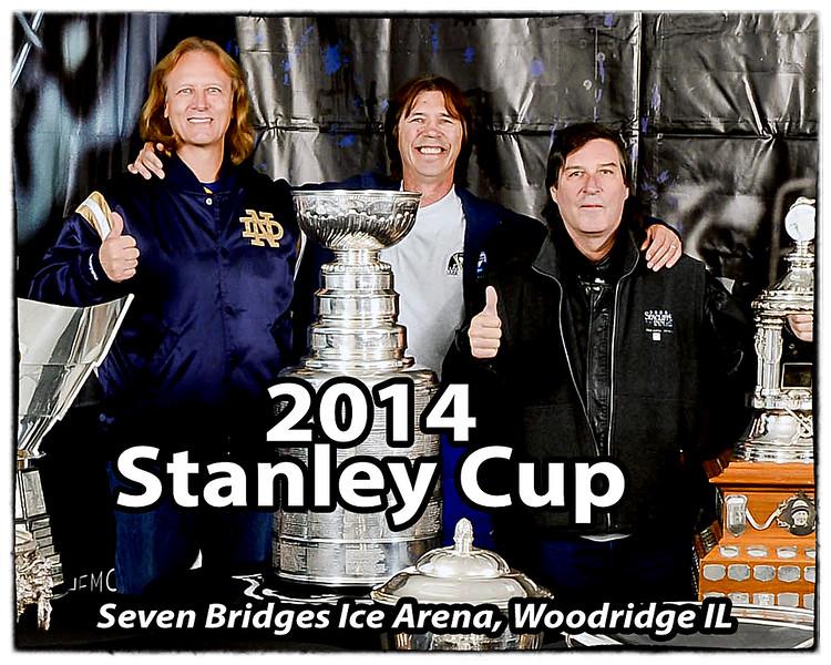 2014 Stanley Cup at Seven Bridges