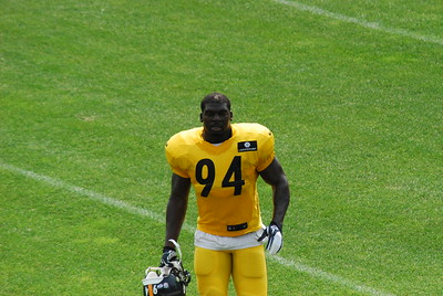 2014 Pittsburgh Steelers Training Camp at Saint Vincent College.