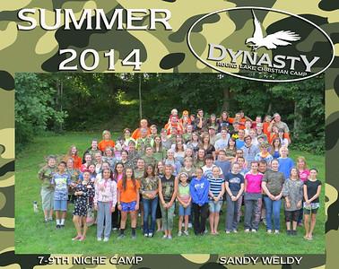 7-9th Grade Niche Camp