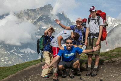 At Grand Col Ferret