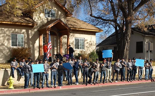 2014 Susanville Veterans Day Parade