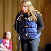 The Herald Bulletin Spelling Bee with contestant Isabel Taylor from East Elementary School, Pendleton.