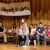 The Herald Bulletin held the annual Spelling Bee Wednesday evening at the Anderson City Building auditorium with 18 spellers competing for the title.