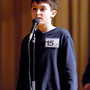 The Herald Bulletin Spelling Bee with contestant Nicholas Bitar from Liberty Christian Elementary School, Anderson.