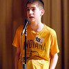 The Herald Bulletin Spelling Bee with contestant Joshua Soden from Anderson Christian Middle School, Anderson.
