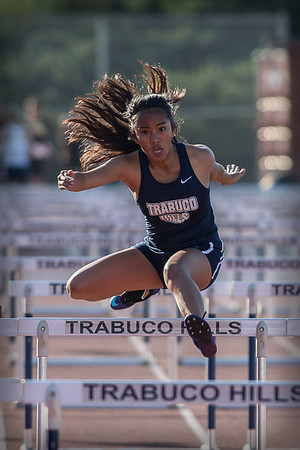 Girls Track Events vs Capo