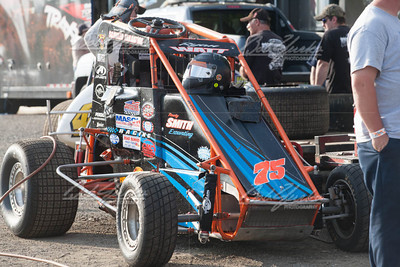 2014 USAC Eastern Storm wingless Sprints