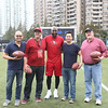 2014 NFL University Bowl VI - Day 2 - Local contest winners received a chance to be the wide receiver and caught passes from Jerry Rice during halftime of University Bowl IV.