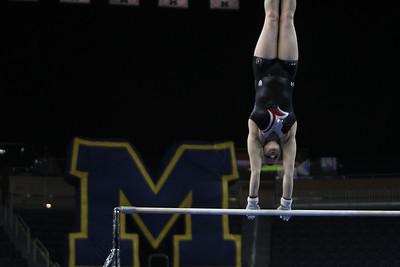 2014 University of Utah Gymnastics @ UMich