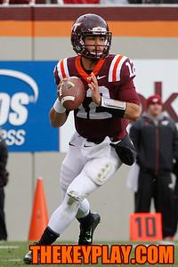 Virginia Tech QB Michael Brewer. (Mark Umansky/Thekeyplay.com)
