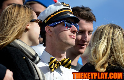 A questionably dressed Wake Forest fan. (Michael Shroyer/ Thekeyplay.com)