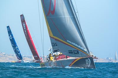 2014 Volvo Ocean Race - In-port Race - Alicante, Spain