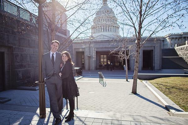 Sarah + Paul: DC Engagements!