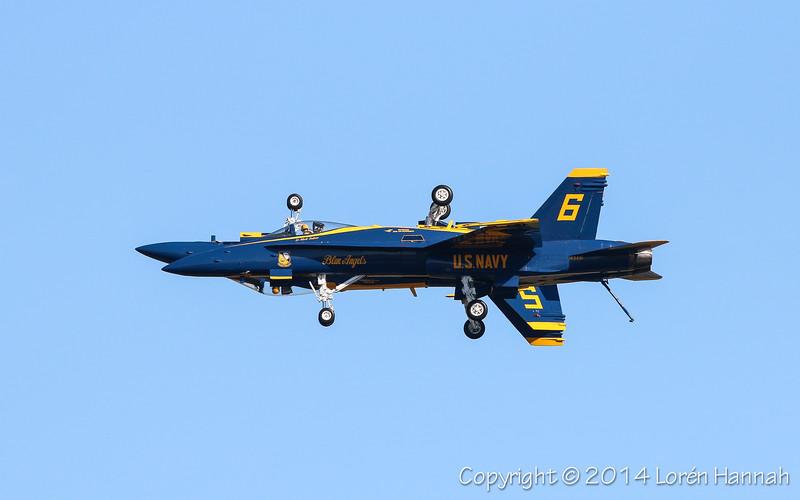 F/A-18 Hornets - Blue Angels