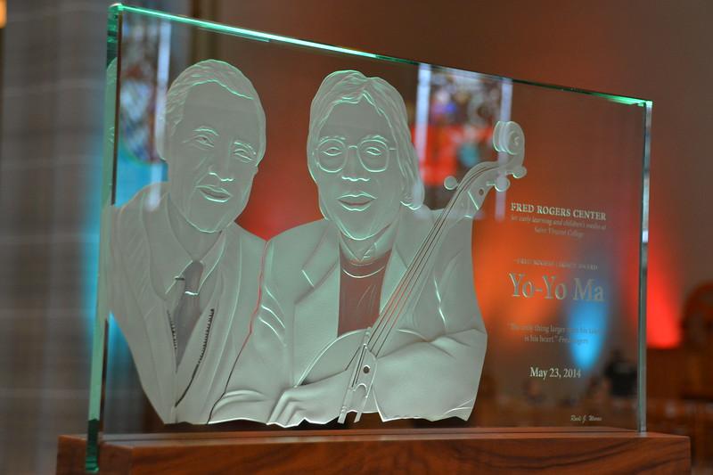 2014 Fred Rogers Legacy Award Yo-Yo Ma