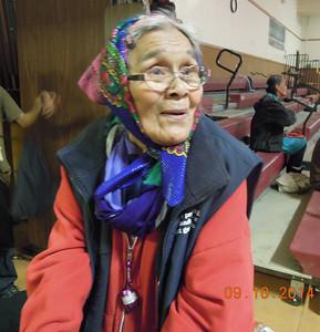 Huslia Elder Shirley Vent