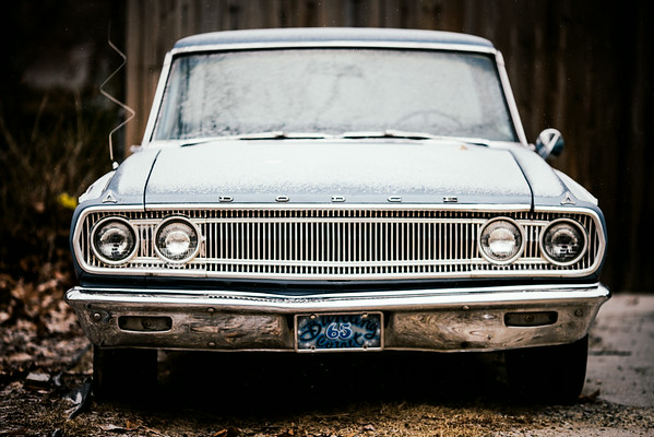 I have a love for antique cars
