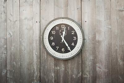 """skyway clock 20"""" diameter $210."""