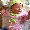 Looking stylish in going home outfit from Nonni & Papa