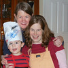 Nonni with chef Nate and assistant chef Mama