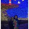 Enjoying Zoo Lights!