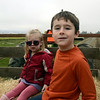 Hayride out to get out pumpkins