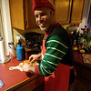 Paella prep by our very own elf