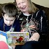 Nate & Nonni reading
