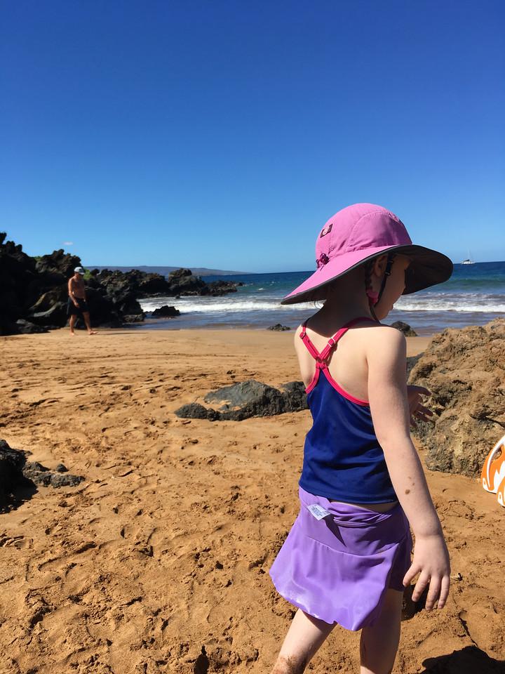 insanely rich colors -- sky, ocean, sand