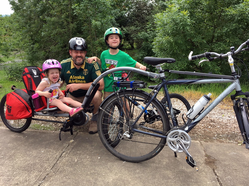 Father's Day bike ride!