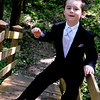 Was there ever a more handsome and dapper ring bearer?