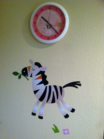 Clock from Auntie K