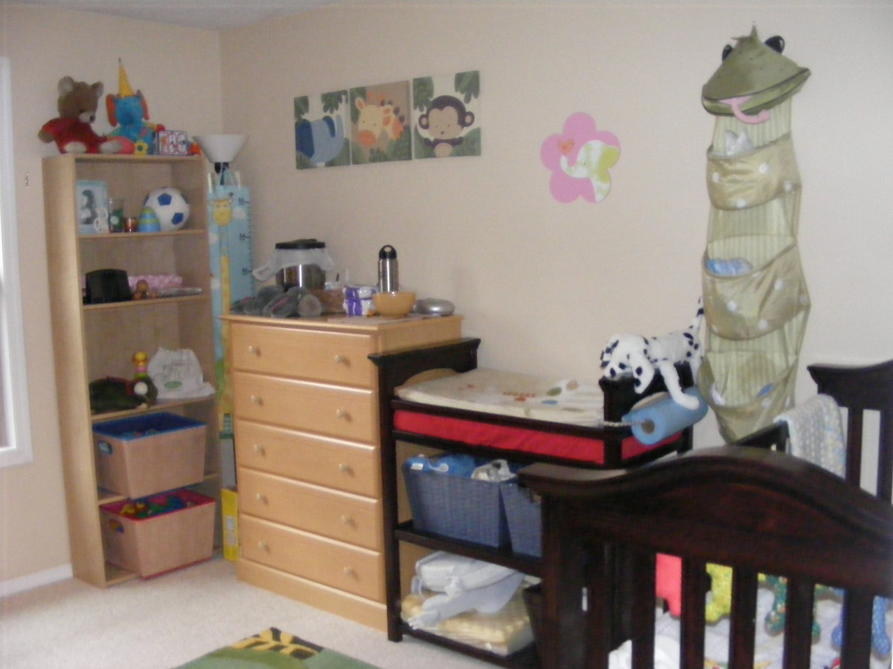 The nursery, with huge thanks to Nonni & Steve