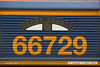 140407-019     Nameplate of GBRf class 66/7 no 66729 Derby County.