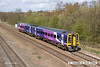 140408-021     Northern Rail class 158 no 158844 speeds past Tupton with 1Y33, the 13.05 Leeds to Nottingham.