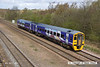 140408-004    Northern Rail class 158/9 no 158908 speeds past Tupton with 1Y29, the 11.05 Leeds to Nottingham.