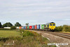 140816-017     Freightliner class 66/5 no 66541 passes Hoby, powering diverted Intermodal 4L97, the 04.59 Trafford Park F.L.T. to Felixstowe North F.L.T..