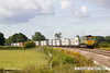 140816-024     Freightliner class 66/5 no 66556  is captured passing Hoby with diverted Intermodal 4L90, 09.11 Lawley Street to Felixstowe south F.L.T..