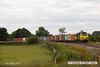 140816-028     Freightliner Powerhaul class 70 no 70009 passes Hoby with yet another load of diverted boxes, train 4L93,  09.56 Crewe Basford Hall to Felixstowe north F.L.T..