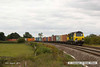 140816-030     Freightliner Powerhaul class 70 no 70009 passes Hoby with yet another load of diverted boxes, train 4L93,  09.56 Crewe Basford Hall to Felixstowe north F.L.T..
